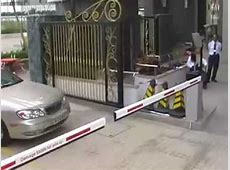 RFID parking access control long range system YouTube