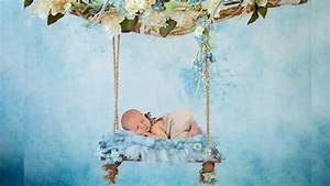NEWBORN PHOTO SESSION For a Baby Boy | Enhancing Newborn Photography with Digital Backgrounds ...