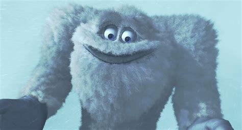 yeti character  monsters  pixar planetfr