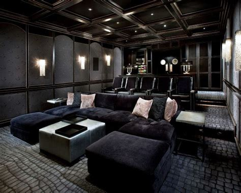 Home Theater Design And Ideas by Top 70 Best Home Theater Seating Ideas Room Designs