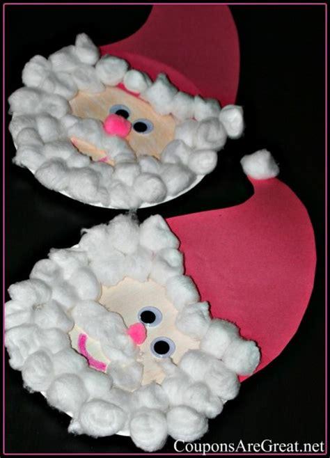 paper plate santa for preschool or elementary age 174 | Paper Plate Santa 432x600