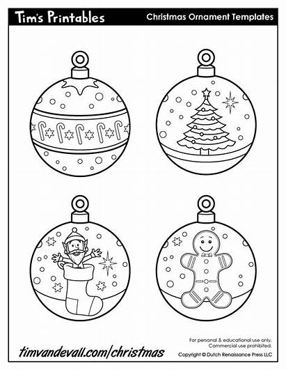 Ornaments Ornament Printable Paper Templates Template Printables