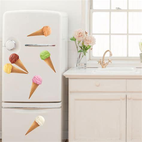 stickers de cuisine stickers muraux pour la cuisine sticker cônes de glace