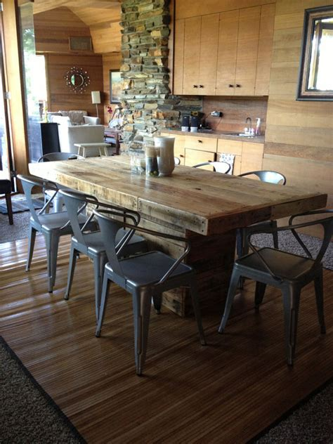 reclaimed wood kitchen table and chairs rustic dining table made from reclaimed wood 30 quot x 50