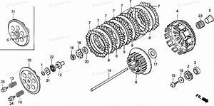Honda Motorcycle 1991 Oem Parts Diagram For Clutch