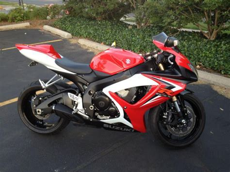 2007 Suzuki Gsxr 600 by Buy 2007 Suzuki Gsxr 600 On 2040motos