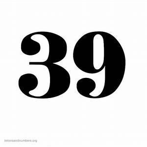 Printable Old English Numbers 1 to 50