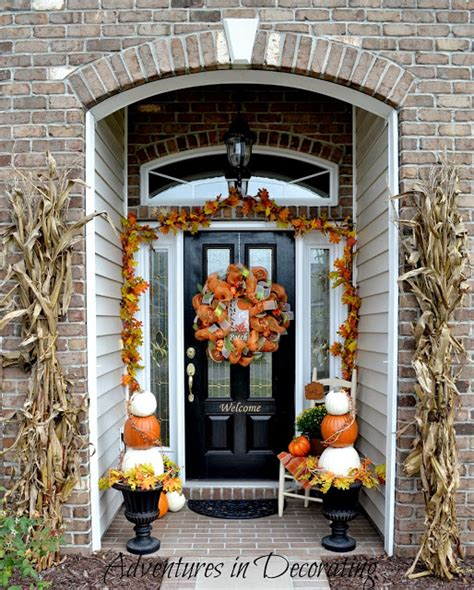 bloggers autumn porches fall decorating ideas