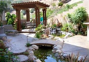 53 cool backyard pond design ideas digsdigs for Cool backyard landscaping ideas