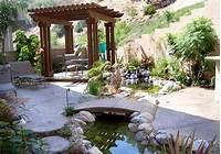interesting patio pond design ideas 53 Cool Backyard Pond Design Ideas | DigsDigs