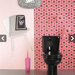 Papier Peint Pour Wc : les wc une d co ne pas n gliger blog ma maison mon ~ Nature-et-papiers.com Idées de Décoration