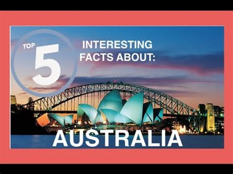 Top 5 Interesting Facts About Australia  Quick 5 Facts