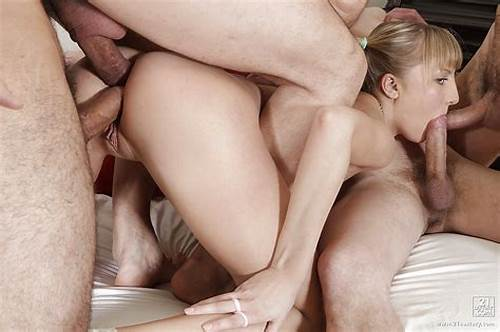 Double Penetration Four Destroys #Creampie #Of #Naughty #Shaved #Girl #After #Group #Sex #And #Double