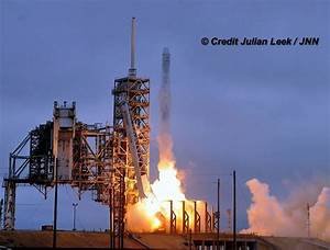 Spectacular SpaceX Space Station Launch and 1st Stage ...