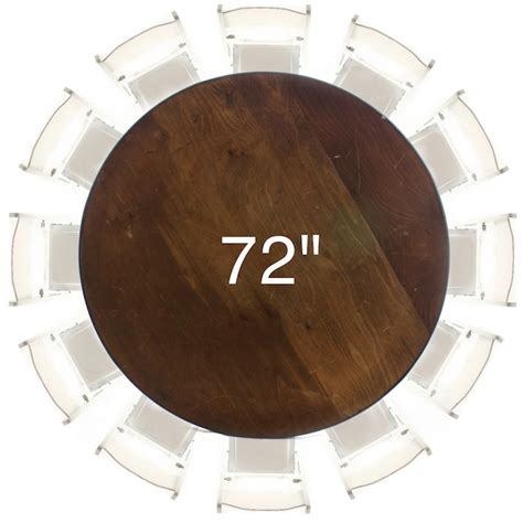 72 inch coffee table 72 round plywood table american party rentals