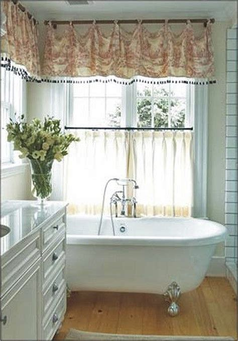 bathroom valances ideas 7 bathroom window treatment ideas for bathrooms blindsgalore