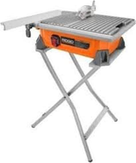 ridgid tile saw model r4030s ridgid 7 in tile saw with stand