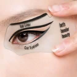 cat eye stencil eye makeup stencils india makeup vidalondon