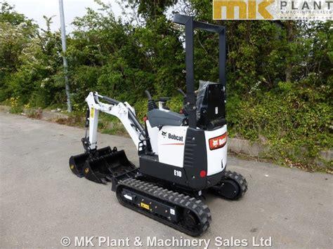 bobcat  micro excavator mk plant