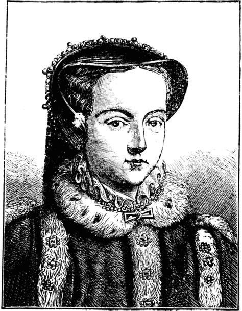 queen mary tudor clipart