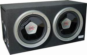 "Sony XS-L120B5D Dual 12"" 2000W Ported Subwoofer Enclosure ..."