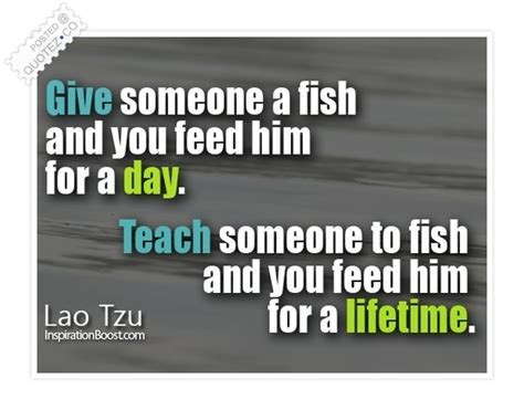 Teach A Man How To Fish Wisdom Quote « QUOTEZ CO