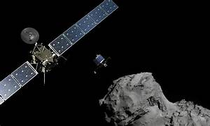 Europe's Rosetta is the first spacecraft to ever orbit a comet