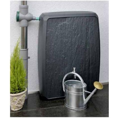 recuperateur eau de pluie castorama cuve r 233 cup 233 rateur eau de pluie sotralentz gris 300l materiauxnet