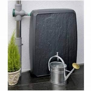 Recupérateur Eau De Pluie : cuve r cup rateur eau de pluie sotralentz gris 300l ~ Premium-room.com Idées de Décoration