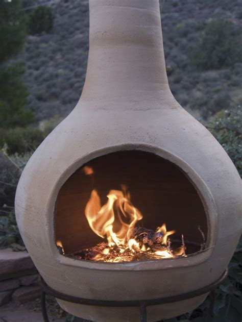 Chiminea Definition by Clay Fireplace Neiltortorella