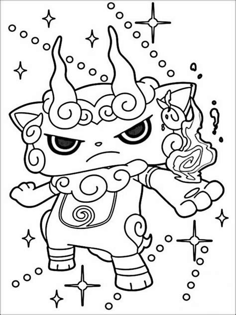 yo kai  coloring pages  coloring pages  kids