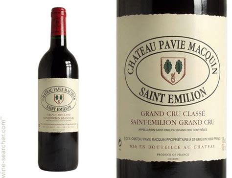 chateau pavie macquin chateau pavie macquin emilion grand cru prices