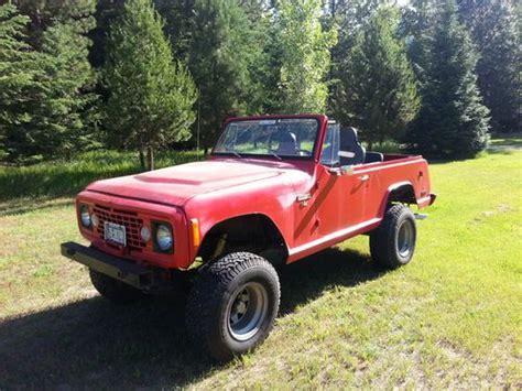 1973 jeep commando purchase used 1973 jeep commando bullnose v8 4x4