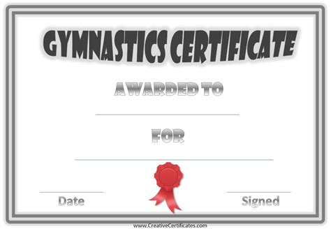 gymnastics awards