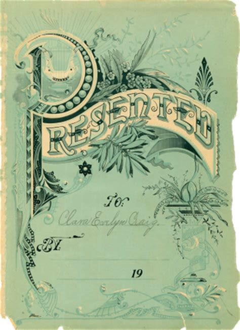 victorian clip art gorgeous aqua ephemera