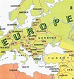 Map Of Europe With Countries Labeled | Thefreebiedepot