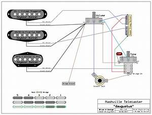 Fender Telecaster Deluxe Wiring Diagram