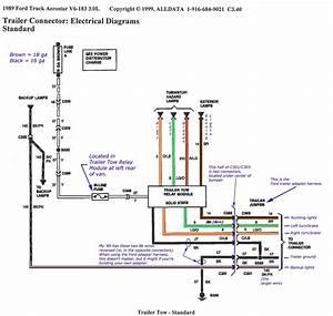 9 Pin Trailer Wiring Schematic