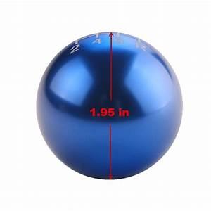 Dewhel Jdm Round Ball Billet Aluminum Racing Type R Style