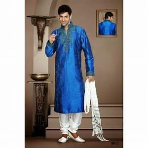 Tenue Indienne Homme : tenue indienne sherwani bleue ~ Teatrodelosmanantiales.com Idées de Décoration