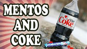 Why Do Mentos And Diet Coke React Youtube
