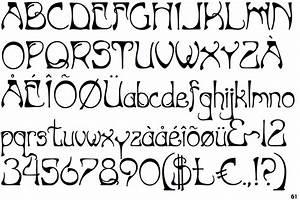 Art Nouveau Typeface | www.pixshark.com - Images Galleries ...