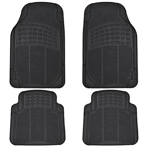 Mat Weather - car rubber floor mats for all weather sedan suv truck 4 pc