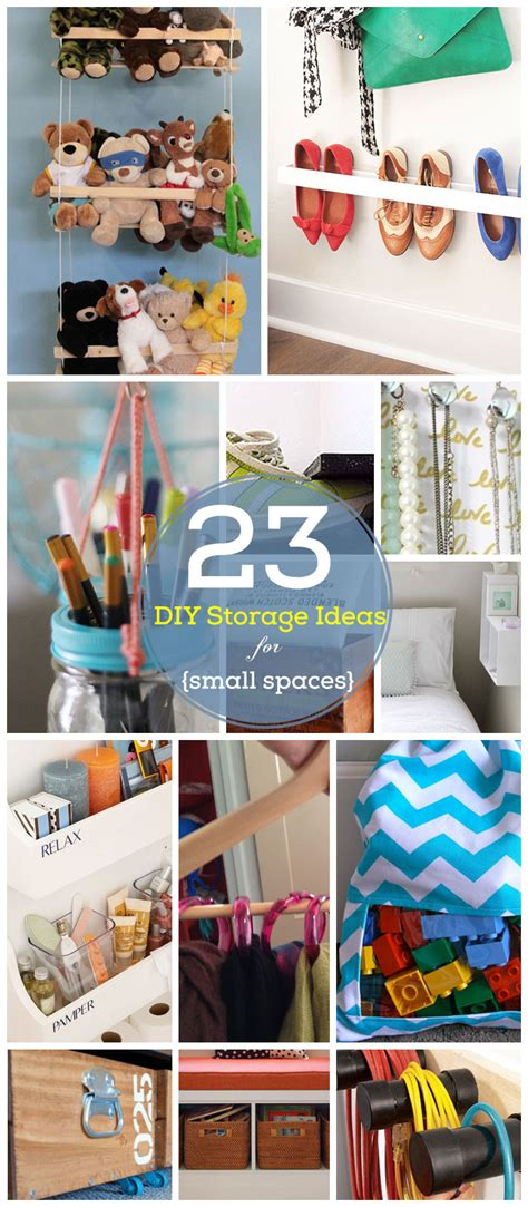 23 Diy Storage Ideas For Small Spaces  Click For