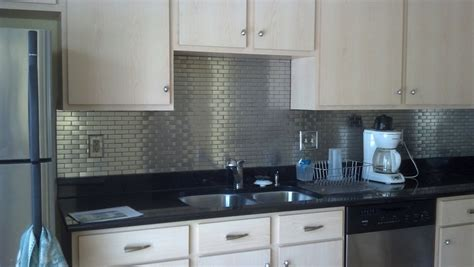 Bathroom Backsplash Lowes : Stainless Steel Tiles Backsplash