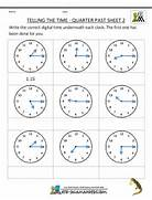 Quarter Past Sheet 2 Sheet 2 Answers Math Worksheet Grade 2 Math Worksheets Printable Worksheet For 2nd Grade Maths First Grade Addition Worksheets Column Addition 2 Digits No Carrying 1