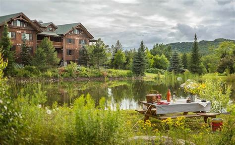 whiteface lodge    lodge lake placid ny