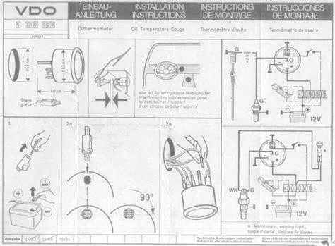 Best Images Vdo Fuel Gauge Diagram Oil Pressure