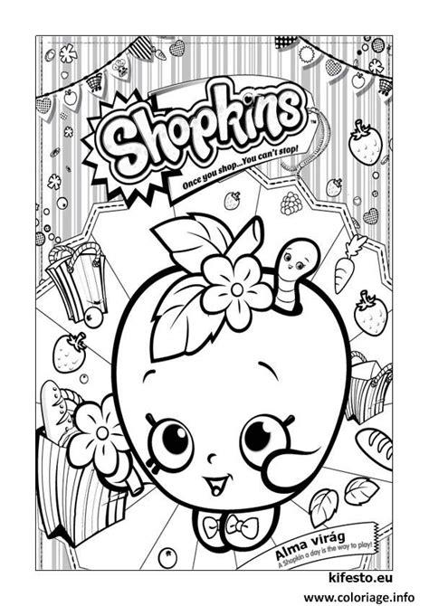 coloriage shopkins kifesto  dessin