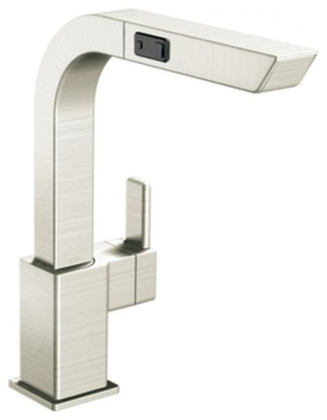 Moen 90 Degree Vessel Faucet by Moen S7597csl 90 Degree Single Handle High Arc Pullout